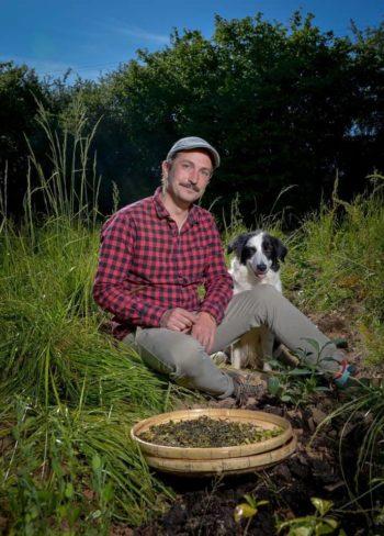 Émile Auté, paysan du thé