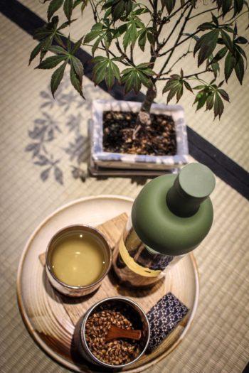 Graine de breuvage du Japon - Mugicha - Vue d'ensemble