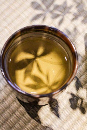Graine de breuvage du Japon - Mugicha - Détail liqueur