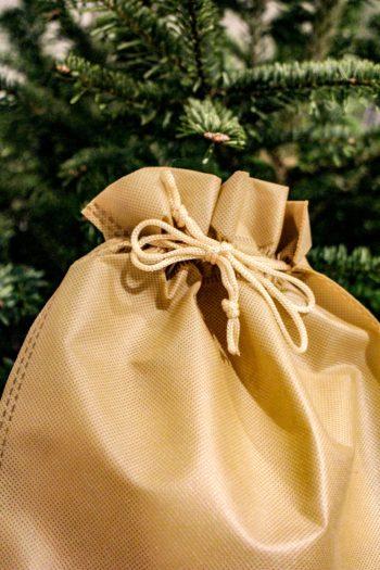Pochette cadeau - Détail noeud