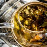 Thé Blanc de France - ' Vapeurs de Lait ' - Détail infusion