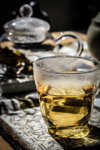 Thé Blanc de France - ' Vapeurs de Lait ' - Détail liqueur