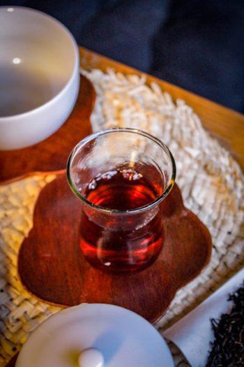 Thé Brun Fumé d'Inde - Nuage Sage - Détail liqueur