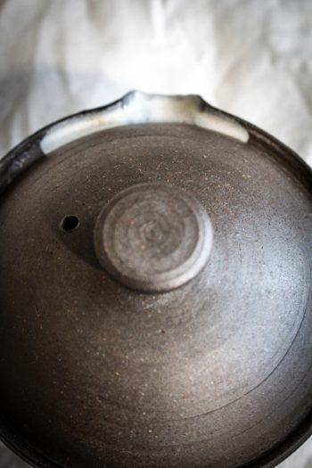 Shiboridashi 8cl - Avalanche - Détail bouton de couvercle