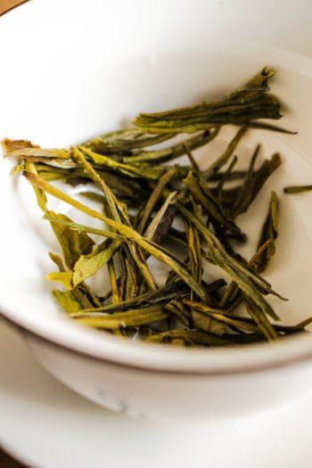 Thé Jaune de Chine - Or Jaune - Détail feuilles sèches