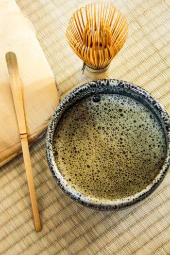 Hōji-matcha du Japon 「Mousse de Topaze」