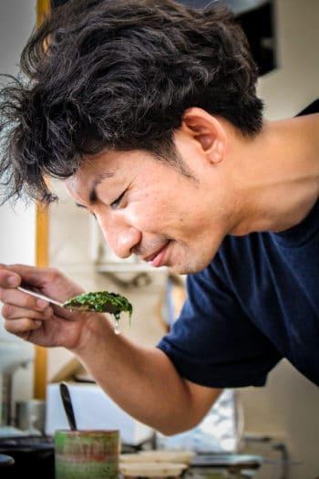 URUSHIBATA Susumu, notre partenaire blender de thé à Shizuoka