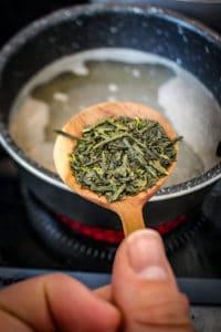 Risotto au thé vert bancha - Cuisine au thé - Curiousitea