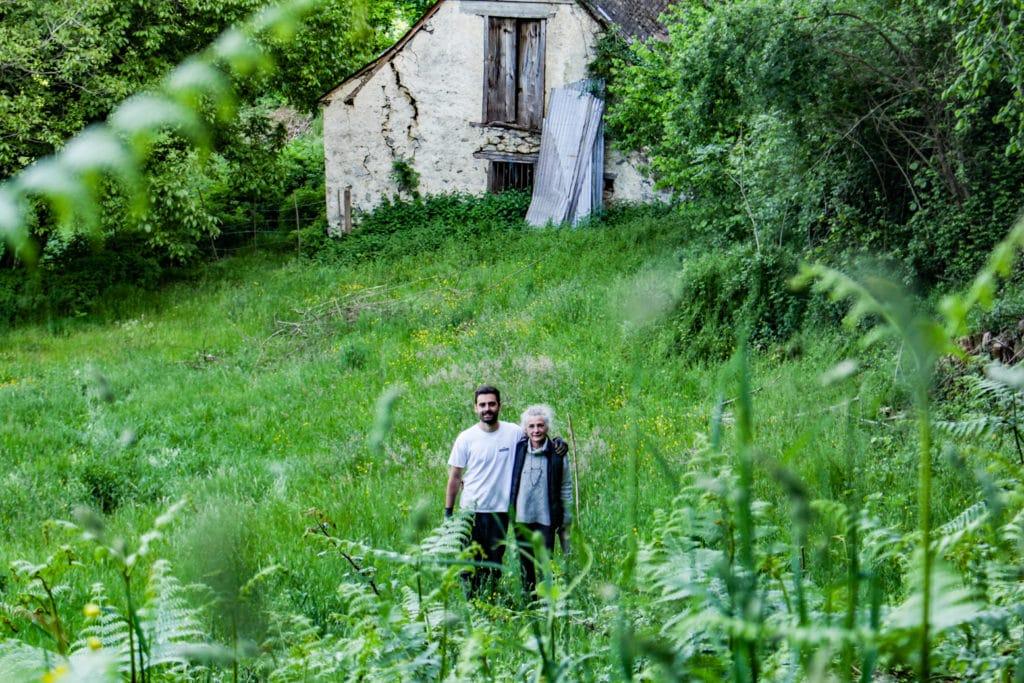 La famille Ben Moura - Les Terrasses de l'Arrieulat - Thé des Pyrénées