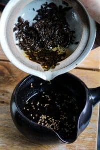 Vinaigrette au thé brun - Cuisine au thé - Curiousitea