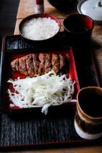Miso Katsu au thé brun Hôjicha - Cuisine au thé - Curiousitea