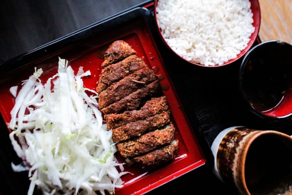 Miso Katsu au thé brun Hôjicha - Curiousitea - Cuisine au thé
