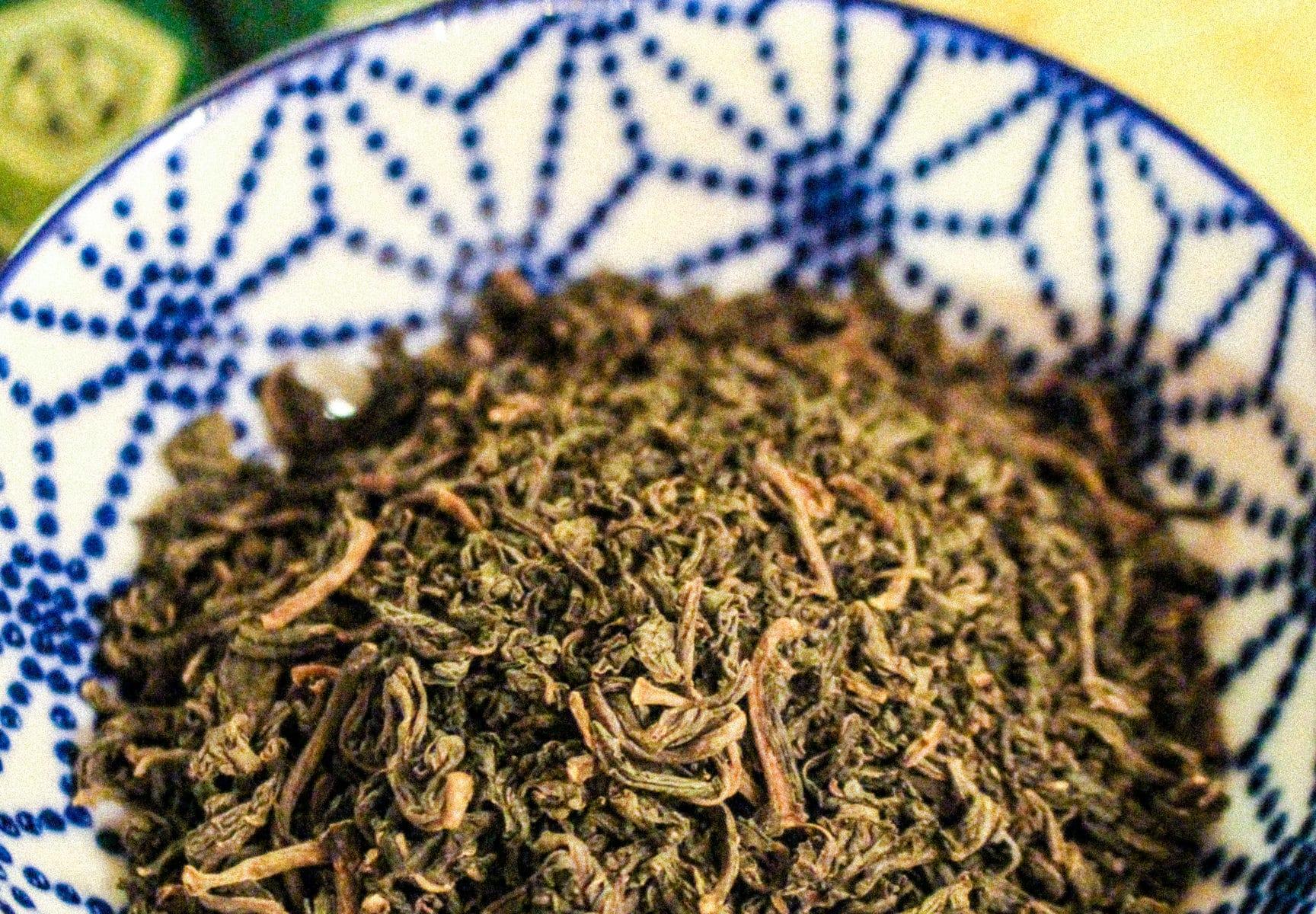 Infusion du Japon 「Amacha」 - Feuilles d'hortensia 'Hydrangea Macrophylla'